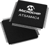 System-on-Chip -- ATSAM4C4 -- View Larger Image