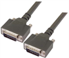 Heavy Duty D-sub Cable, DB15 Male / Male, 1.0 ft -- DSA00025-1F - Image