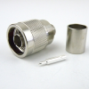 N Male Connector Crimp/Solder Attachment For RG9, RG214, RG393, RG225 Cable -- SC9105 -Image