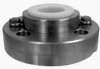 D44 Teflon® Series #80 Flanged Diaphragm Seal -- D44017 - Image