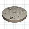 Subplates For Mounting On Machine Table -- 250mm Round