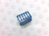 TYCO 3-435668-5 ( DIP SWITCH, 5POSITION, SPST, THROUGH HOLE TERMINATION STYLE ) -Image