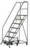 Easy Turn Steel Rolling Ladder -- T9H954800
