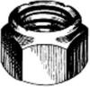 LOCK NUT NYLON INSERT 4-40 -- IBI517680