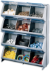 12 Compartment Clear View Storage Bin -- Model # CB-12, CBR-12, CBLB-12, CBMG-12, CBBZ-12 - Image