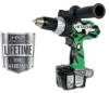 HITACHI 14.4 V Lithium Ion Cordless Driver Drill -- Model# DS14DL