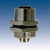 M12 Panel Mount Connector -- 12FP8-000