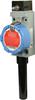 ISA100 WBX Series Hazardous Area Limit Switch, 2.0 dBi omni w/switch mount; straight design, side rotary momentary, ISA100.11a wireless networking -- WBX1B12ABA