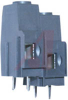 Terminal Block; 2; 0.4 in.; 20 to 6 AWG; Nickel Plated Copper Alloy; 0.06 in. -- 70211951
