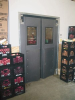 Insulated ABS Industrial Impact Doors -- ID-HD-175