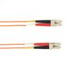 25-m, LC-LC, Single-Mode, PVC, Orange Fiber Optic Cable -- FOCMRSM-025M-LCLC-OR