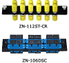 MR Technologies® Fiber Optic Adapter Panels -- MRT-ZN-112DLC-AQ -- View Larger Image