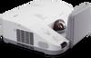 3000-lumen Ultra Short Throw Projector w/ Wall Mount -- NP-U300X-WK1