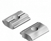 T-Slot Threaded Plate/Rhombus Self-Aligning and Roll-In Nut -- 96015 - Image