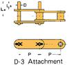 Plastic Sleeve Chain Attachment -- CS2052D D-3 -Image