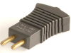 2-Pin Appliance Plug, .109