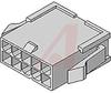 PLUG HOUSING-PANEL MOUNT;94V-0;12 CIRCUITS -- 70191074 - Image