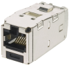 Safety & Security : Physical Network Security : Keyed Copper Connectivity : Keyed Jack Modules : Category 6 -- CJSK688TGBL