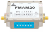 25 dB Gain Block Amplifier Operating From 2 GHz to 4 GHz with 15 dBm P1dB and SMA -- FMAM20 -Image