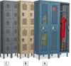 EDSAL Ventilated Lockers -- 7825618