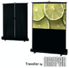 Portable Projection Screen -- Traveller