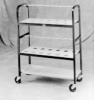 CART - Kjeldahl Flask Carrier, Three-Shelf, Labconco, Kjeldahl Flask Carrier Cart ** D i s c o n t i n u e d ** -- 1156486