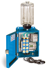PurgeX Infrared Sensing Lubrication System with 8 Air-Operated PurgeX Pumps, Nema 12 Enclosure, 1/2 gal Polycarbonate Reservoir, 100-240VAC 50/60Hz -- YB4147-108