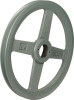 "9.75"" Spoked Cast Iron Sheave -- 8039711 - Image"
