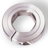 Hexagonal One-Piece Stainless Steel Clamp-Type Collars -- 12S004
