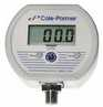 Cole-Parmer Battery-powered Digital NEMA Gauge, 0 to 30.0 PSI; 1/4