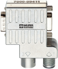 M12/D-Sub Profibus Adapter 90° M12 male B-cod./M12 female B-cod. -- 7000-99411-0000000
