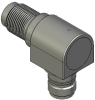 Honeywell Harsh Application Aerospace Proximity Sensor, HAPS Series, Right angle cylindrical threaded form factor, 2,50 mm/3,50 range, 3-wire open collector output normally closed, EN2997Y10803MN term -- 1PRTD3BCN1-000 -- View Larger Image