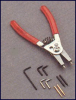 APEX TOOLS 3150 ( SM. IN. & EX. SNAP RING PLIERS, DWOS REPLACED BY 026-3150D ) -Image
