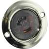 Receptacle; 15 A; 125 V; Cold Rolled Steel; Brass; Brass; Brass; Nylon -- 70116176
