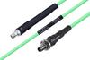 Temperature Conditioned SMA Female to SMA Female Bulkhead Low Loss Cable 48 Inch Length Using PE-P142LL Coax -- PE3M0136-48 -Image
