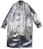 Chicago Protective Apparel Large Aluminized Carbon Fleece Welding & Heat-Resistant Coat - 40 in Length - 601-ACF LG -- 601-ACF LG - Image