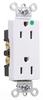 Duplex/Single Receptacle -- 26262-HGW -- View Larger Image