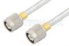 TNC Male to TNC Male Cable 6 Inch Length Using PE-SR401FL Coax -- PE34282-6 -Image