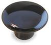 Cabinet Knob,Round,Ceramic,PK 5 -- 1XNR1 - Image