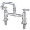 8 IN Lead Free Deck Mount Faucet with 8 IN Swivel Spout -- 0239846 - Image