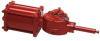 P/H Series Hydraulic Quarter-Turn Valve Actuator -- H250 Double-acting