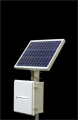 Solar panel via Cannon Water Tech.
