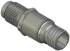 Honeywell Harsh Application Aerospace Proximity Sensor, HAPS Series, Inline cylindrical threaded form factor, 2,50 mm/3,50 range, 3-wire open collector output normally open, D38999/25YA98PN terminatio -- 1PCTD3CAN1-000 -Image