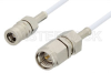 SMA Male to SMB Plug Cable 60 Inch Length Using RG196 Coax -- PE34448-60 -Image