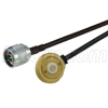 NMO/TAD Mobile Mount to N-Male, Pigtail 10 ft 195-Series -- CA-AM1NMA010