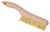 Hand Brushes - Platers' Hand Brushes -- 00402-SS - Image