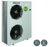 Multifunctional Air-Cooled Unit with Hot Water Production -- Sirio