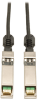SFP+ 10Gbase-CU Passive Twinax Copper Cable, Black, 1M (3-ft.) -- N280-01M-BK