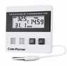 Digi-Sense Calibrated Time and Date Digital Thermometer, wire probe -- GO-90002-01