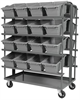 Double-sided Cross-stack Akro-tub Rack -- RACR5 - Image